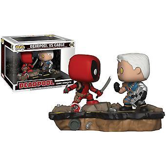 Deadpool vs Cable Comic Moments Pop! Vinyl