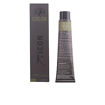I.c.o.n. Ecotech kleur natuurlijke kleur #6.1 Dark Ash blond 60 Ml Unisex