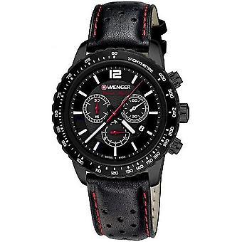 Wenger Men's Watch 01.0853.108 Chronographs