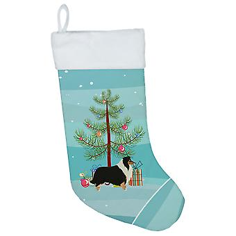 Carolines Treasures  CK3532CS Collie Christmas Tree Christmas Stocking