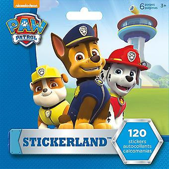 Mini Stickerland Pad - Paw Patrol - 6 pages Toys Stationery New st2309