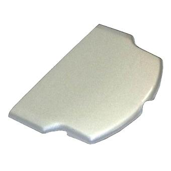 Replacement battery cover for sony psp 2000 / 3000 series - silver