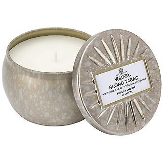 Voluspa Decorative Tin Candle Blonde Tabac 127g