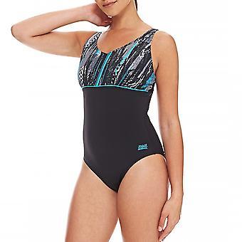 Zoggs naisten Minnamurra uinti kesällä allas uida uimapuku puku musta/Multi