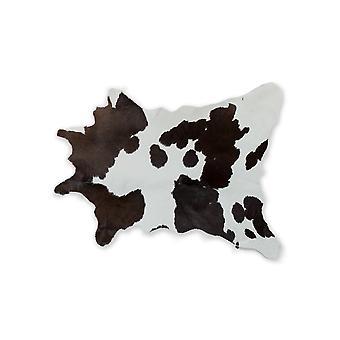 "24 ""x 36"" שוקולד ולבן calfskin-שטח שטיח"
