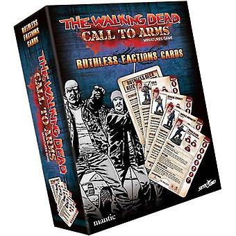 Cartes de caractère Ruthless Factions: The Walking Dead: Call to Arms