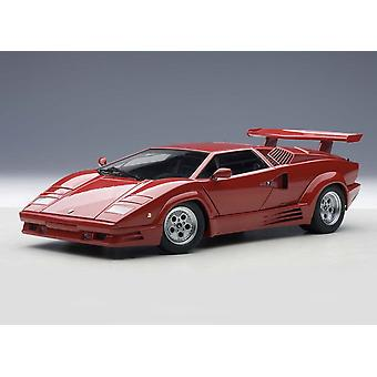 Lamborghini Countach with Rear Spoiler Diecast Model Car