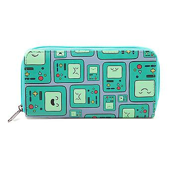 Adventure Time Unisex Beemo BMO Video Games Console All-Over Pattern Purse Wallet One Size Multi-Colour (GW1PNMADV)