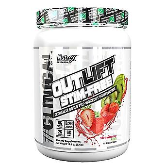 Nutrex Outlift Stim Free Strawberry Kiwi 520 g