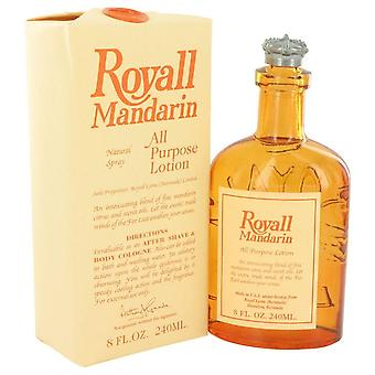 Royall mandarin all purpose lotion / cologne by royall fragrances   403254 240 ml