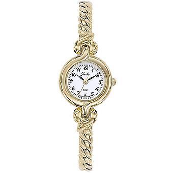 Horloge Certus 630502-JOALIA Bo tier staal dor ronde vrouwen dor stalen armband