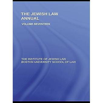 The Jewish Law Annual Volume 17 by Lifshitz & Berachyahu