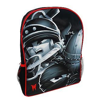 World Of Warriors Childrens Boys Official Backpack/Rucksack