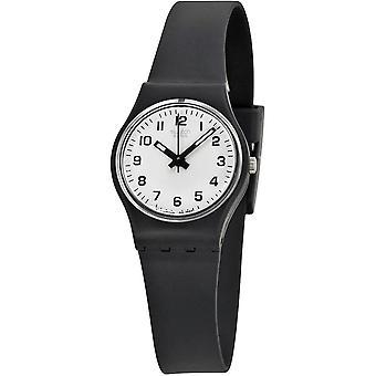 Swatch LB153 Femminile Nero Plastica 25MM Quartz Orologio analogico