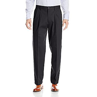 Dockers Men-apos;s Relaxed Fit Stretch Signature, Noir (Stretch), Taille 38W x 30L