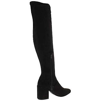 Bar III Womens GABRIE Suede Closed Toe Knee High Fashion Boots