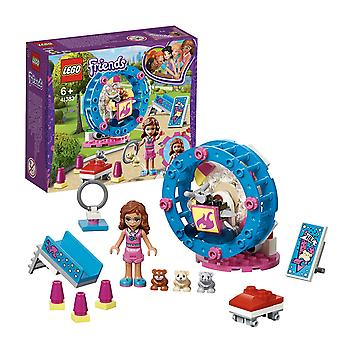 LEGO 41383 Amici Olivia's Hamster Playground Building Set