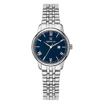 ORPHELIA Women Analogue Watch The Minimalist Silver Stainless steel OR12707