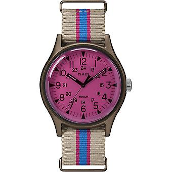 Timex MK1 Fabric Indiglo Mens Watch TW2T25600