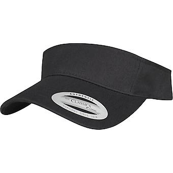 Flexfit by Yupoong Mens Curved Cotton Visor Cap Hat