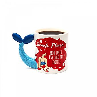 BigMouth Inc. Beach Please Mermaid Mug