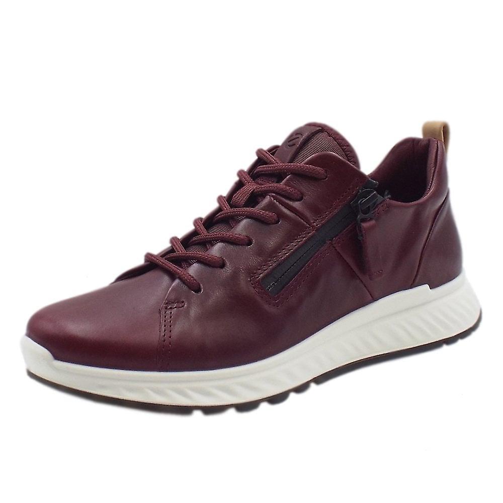 ECCO 836143 St1 Damskie sneakere w Burgundii jVOkT