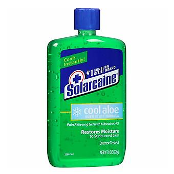 Solarcaine cool aloe burn relief formula pain relieving gel, 8 oz
