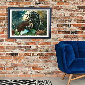Winslow Homer - Campfire Adirondacks Poster Print Giclee