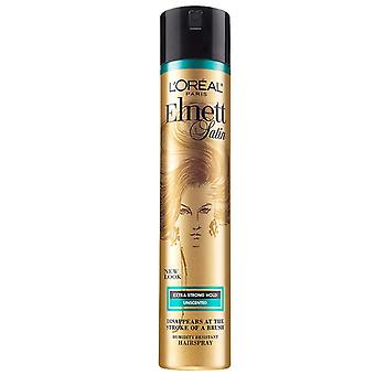 L'oreal paris elnett satin hairspray, unscented, 11 oz