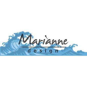 Marianne Design Creatables Cutting Dies - Waves LR0600