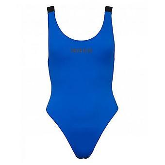 Calvin Klein Swimwear Logo Scoop Swimsuit