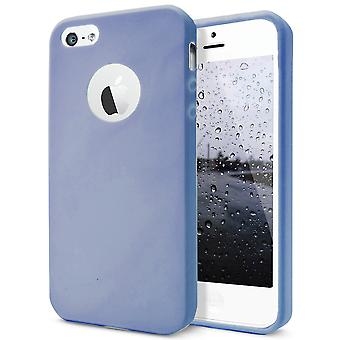 Shell for Apple iPhone 5 5s SE Navy Blue TPU Protection Case