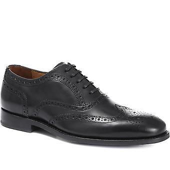 Jones Bootmaker Mens Colônia Goodyear Welted Leather Brogues