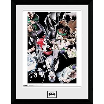 Batman villians kehystetty levy 30 * 40cm