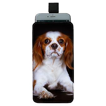 Cavalier King Charles Spaniel Pull-up Mobile Bag