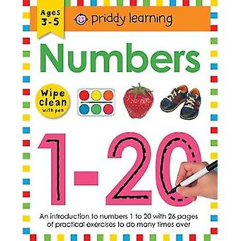 Wipe Clean Workbook Numbers 1-20 by Roger Priddy - 9781783416042 Book