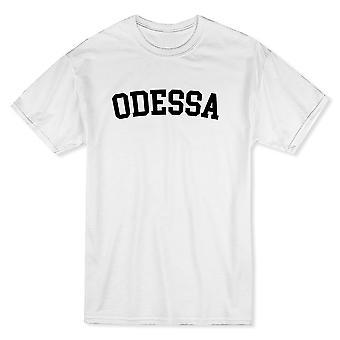 Odessa staden Visa stolthet herrarnas vit T-shirt