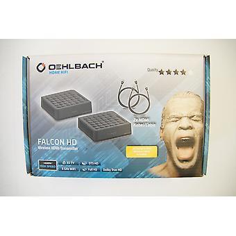 B Ware Oehlbach Falcon HD Wireless HDMI® Transmitter 1 Set