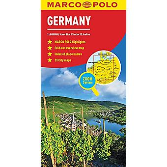 Germany Marco Polo Map by Marco Polo - 9783829755900 Book