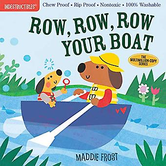 Indestructibles - Row - Row - Row Your Boat by Maddie Frost - 97815235