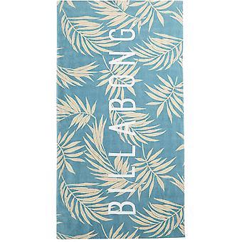 Billabong Lie Down Beach Towel in Sea Blue