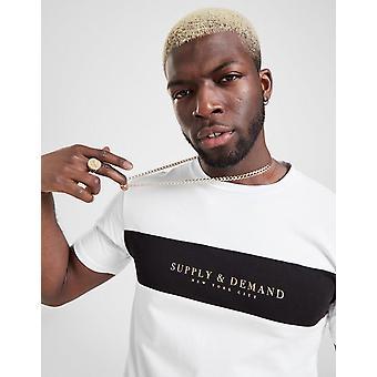 New Supply & Demand Men's Silence T-Shirt White