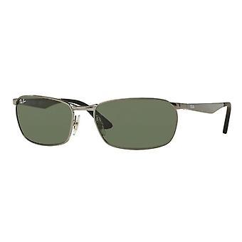 Ray-Ban RB3534 004 Gunmetal/Green Sunglasses