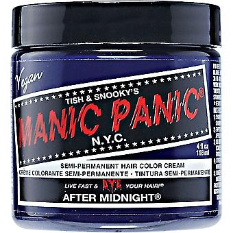 Manic Panic Semi Permanent Hair Color - After Midnight Blue