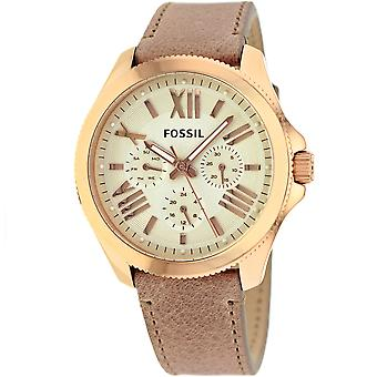 Fossil Women's Cecile Champagne Dial Watch - AM4532