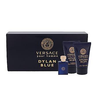 Giftset Versace Dylan Sininen Edt 5ml Mini Setti