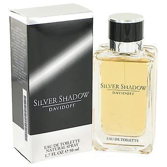 Silver Shadow Eau De Toilette Spray By Davidoff 1.7 oz Eau De Toilette Spray