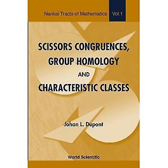 Scherenkongruencen, Gruppenhomologie und Charakteristische Klassen (Nankai Tracts in Mathematics)