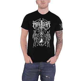 Marduk T Shirt Serpent Sermon Band Logo new Official Mens Black SLeeve Print