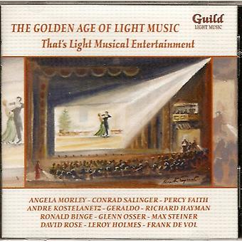 That's Light Musical Entertainment - That's Light Musical Entertainment [CD] USA import